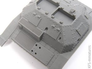 1/48 WWII Polish TKS Tankette with Commander - CGD