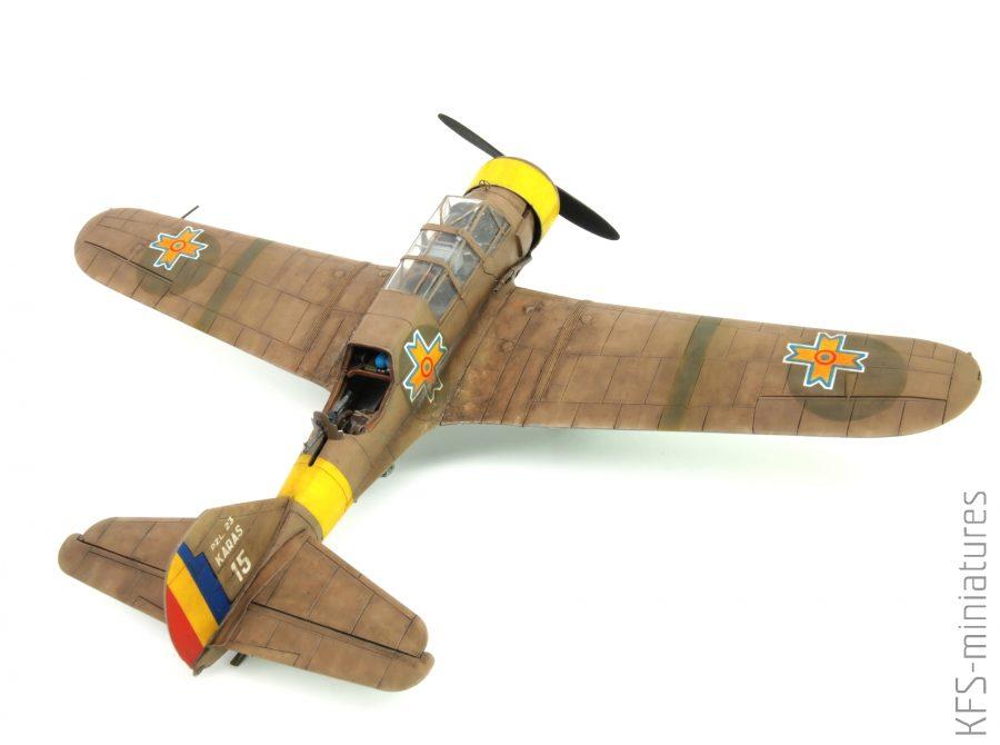 1/72 PZL.23B Karaś in Romanian Service