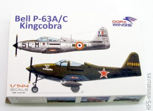 1/144 Bell P-63A/C Kingcobra - Dora Wings