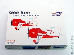 1/144 Gee Bee - Dora Wings