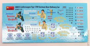 1/35 German Beer Delivery Car - MiniArt