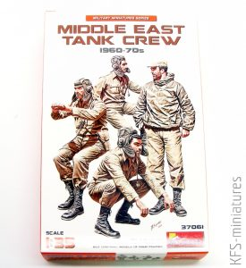 1/35 Middle East Tank Crew - MiniArt