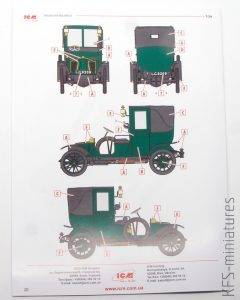 1/24 Type AG 1910 London Taxi - ICM