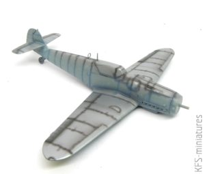 1/72 Bf 109 G-6 - Warsztat