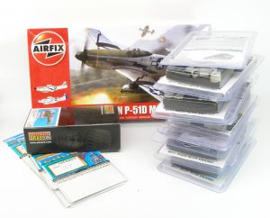 1/48 P-51D interior for Airfix - Eduard