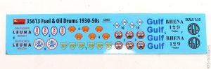 1/35 Fuel & Oil Drums - MiniArt