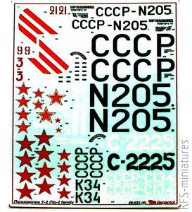 1/48 Polikarpov U2/ Po-2 family - Begemot
