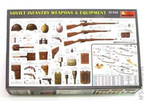 1/35 Soviet Infantry Weapons & Equipment - MiniArt