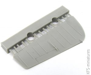 1/48 P-51D control surfaces for Airfix - Eduard