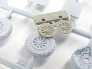 1/48 P-51D wheels for Airfix - Eduard