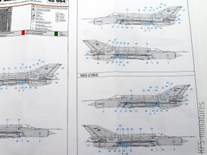 1/48 MiG-21 surface panels