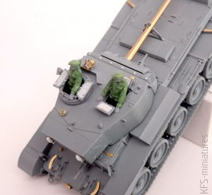 1/72 A34 'Comet' Mk.1A - Budowa