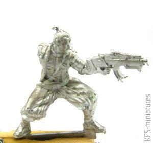 28mm Yojimbo, Mercenary Sword - Infinity