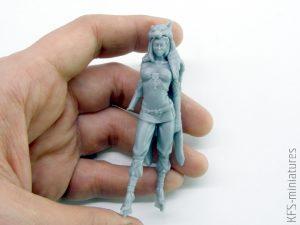 70mm Germanic Barbarian - Valkiria Miniatures