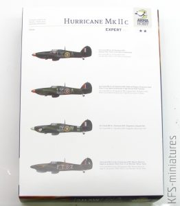 1/72 Hurricane Mk IIc - Arma Hobby