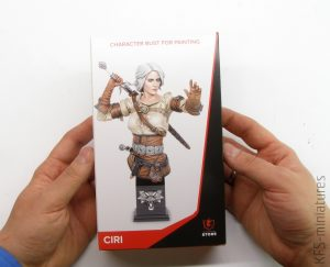1/10 Ciri - popiersie - CD PROJEKT RED