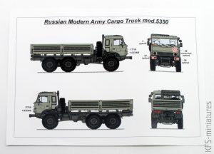 1/72 Russian Modern Army Cargo Truck - KamAZ - Armory