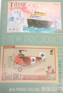 Titanic - Port Scene & Vehicle - Suyata