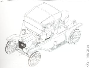 1/24 American Model T 1912 Commercial Roadster Car - ICM