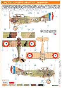 1/48 SPAD XIII late version - Eduard