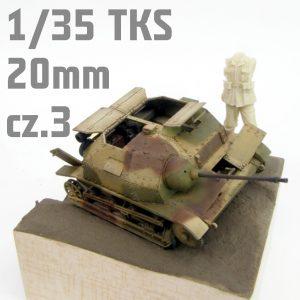1/35 TKS 20mm - IBG - Malowanie