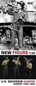 1/35 U.S. SOUVENIR HUNTER - EUROPE 1943-1945 - MIG Production