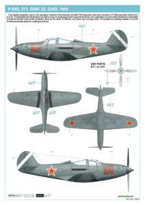 1/48 Bella P-39 Airacobra - Eduard
