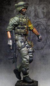 120mm U.S. Soldier