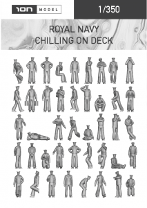 1/350 Chilling on deck - ION Model