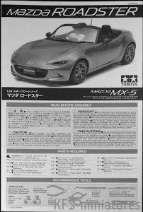 1/24 Mazda Roadster RF - Tamiya
