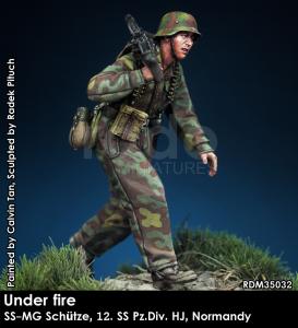 1/35 W-SS MG 42 team - Under Fire - Rado Miniatures