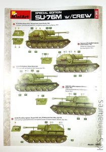 1:35 SU-76M w/Crew SPECIAL EDITION – MiniArt
